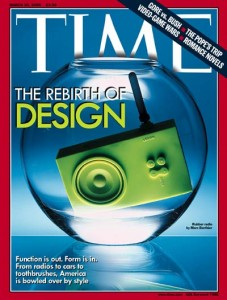 Time magazine the rebirth of design